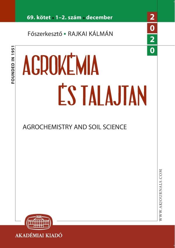 Agrokemia Cover