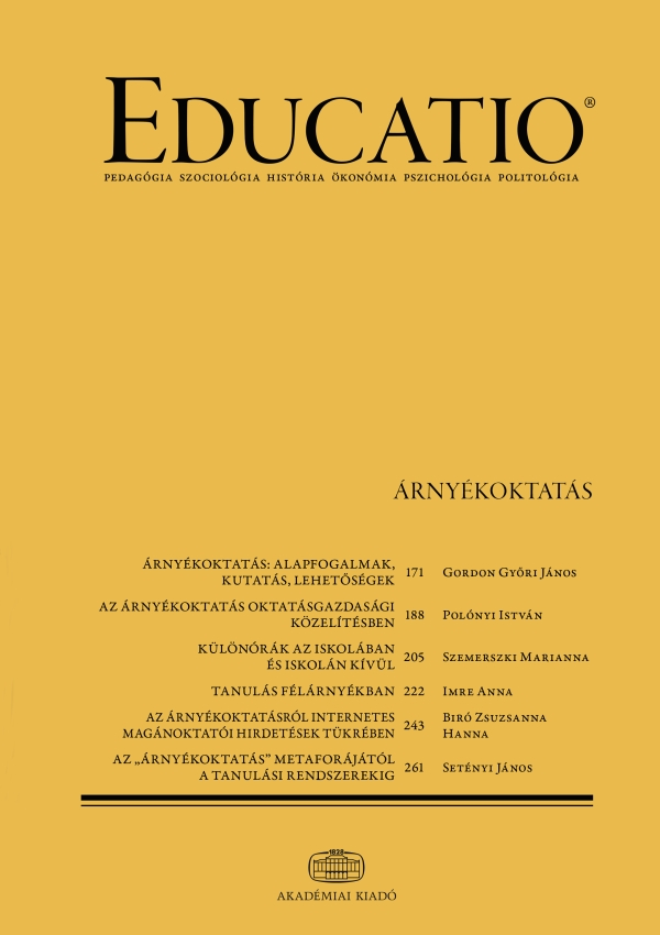 EDUCATIO Cover