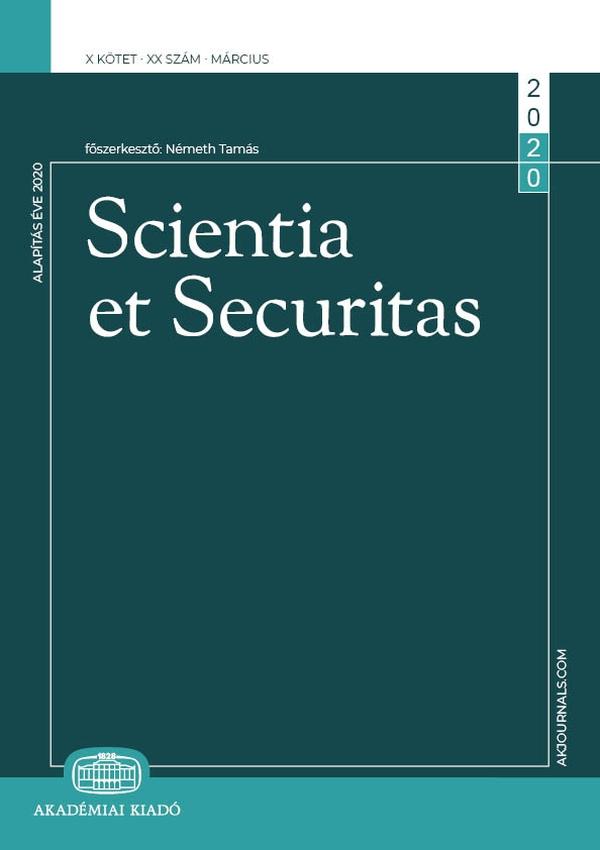 SCIENTIA ET SECURITAS Borító